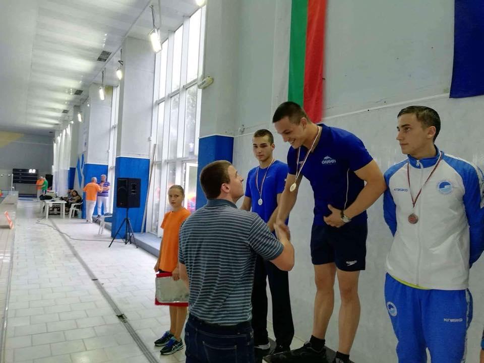Tsanko Tsankovтриумфира тази вечер на плувния финал с първо място