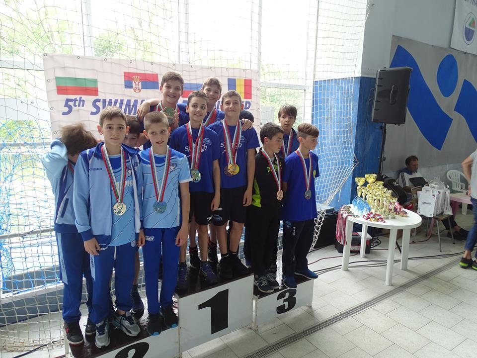 """Завърши Международният турнир по плуване ????♂️ """"Talent Cup"""" 9-14г. за NSK Olimp."""
