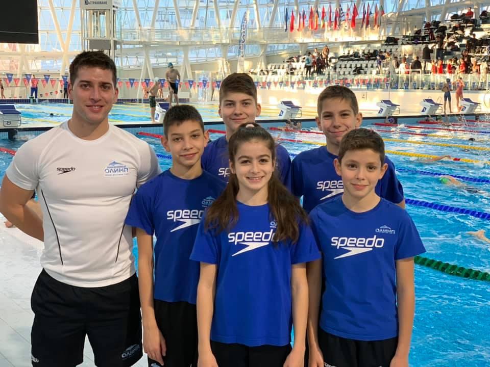 """Държавният шампионат по плуване за възрастова група """"Деца"""" донесе нови емоции за """"НСК Олимп"""""""