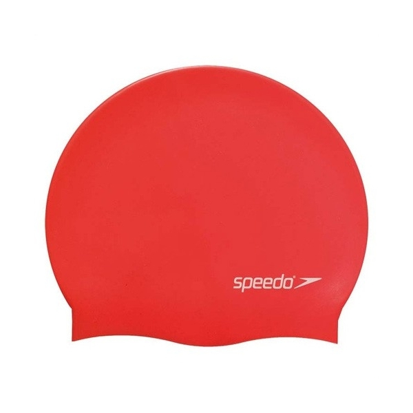 Плувна шапка Plain Flat Silicone Cap Junior Team