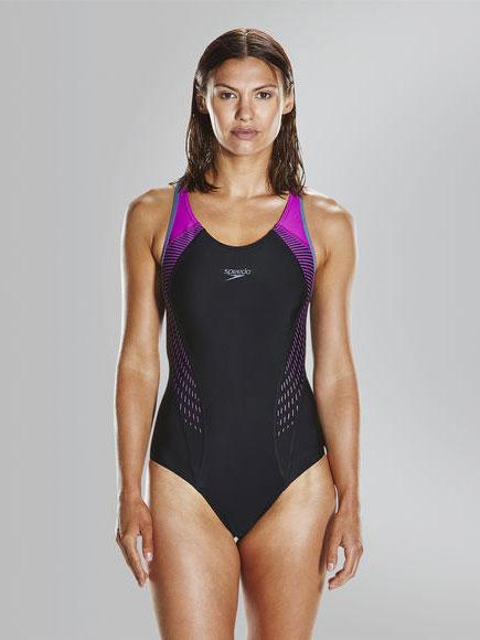 Цял бански Fit Laneback Swimsuit