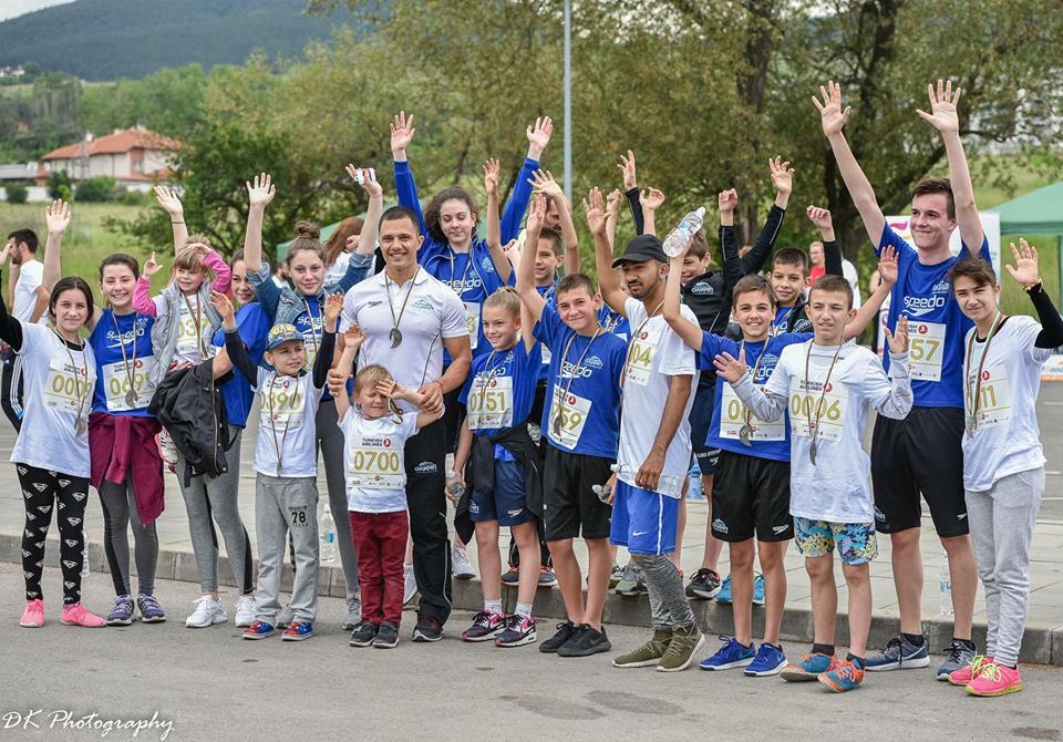NSK Olimp подкрепи Run2Gether България