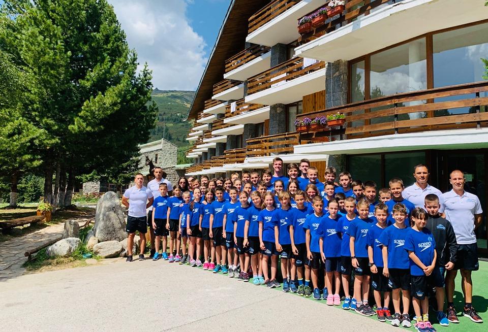 На 23.08.2019г. започна традиционния лагер на @Nsk Olimp наНационална Спортна База