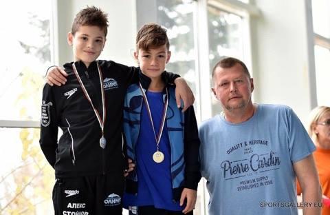Алекс Стойнов Вицешампион на България на 100м. Съчетано плуване