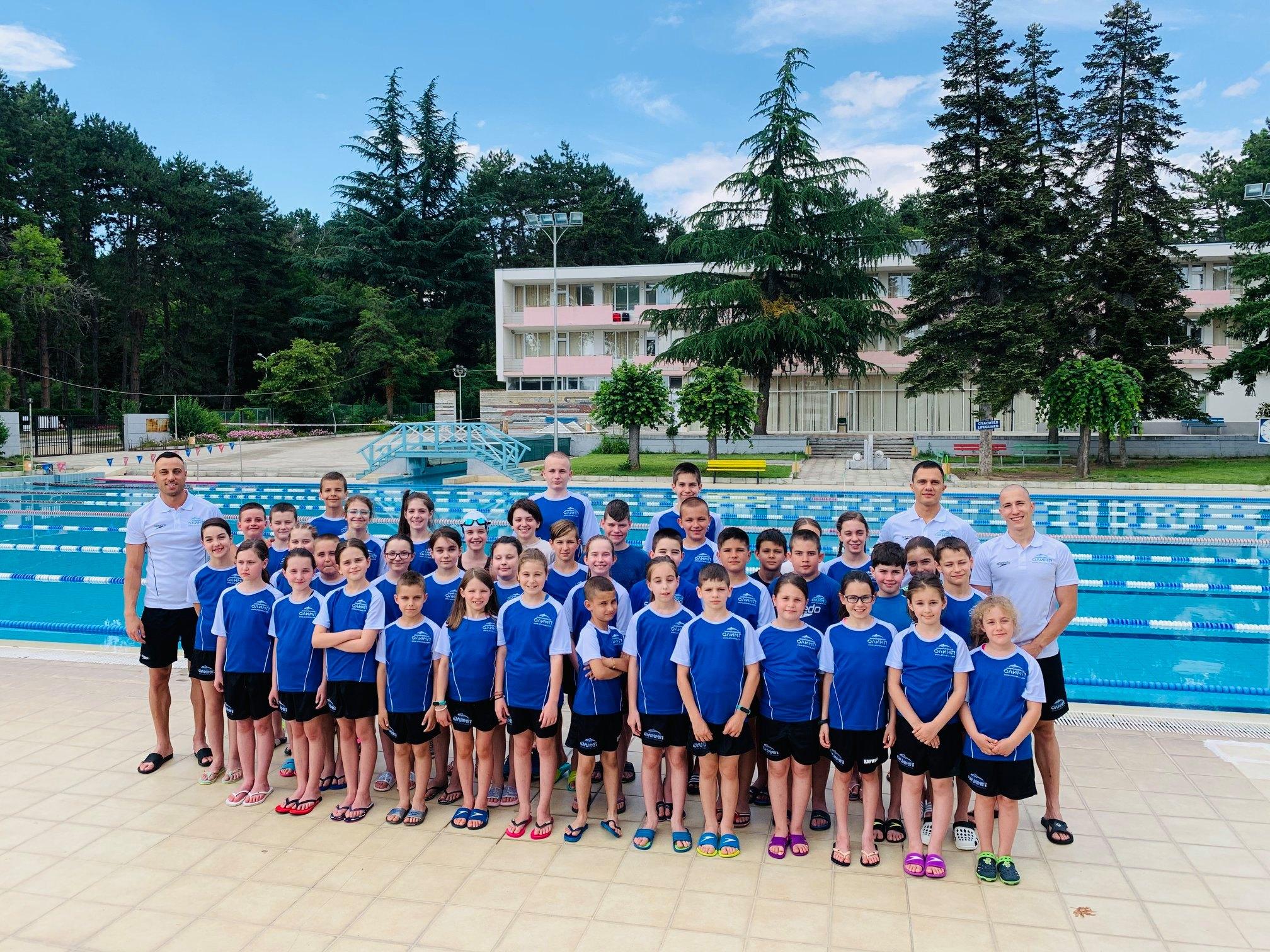 НСК Олимп проведе училище за израстване в гр. Сандански