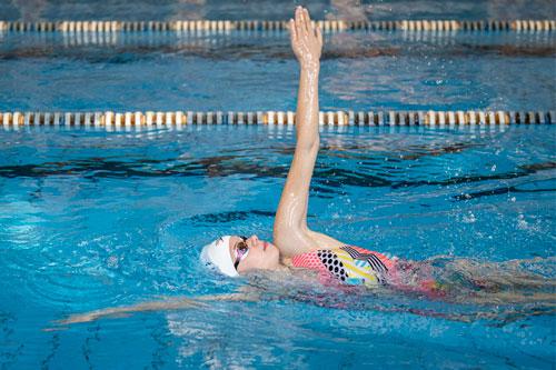 Гръб - стил в плуването