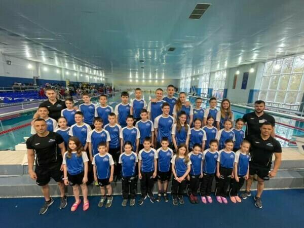 Първо място по спечелени медали за НСК ОЛИМП на плувния турнир Цветница 2021г